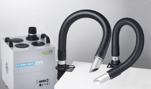 Дымоуловитель Zero Smog 4V Kit 2 Nozzle с наклонными насадками