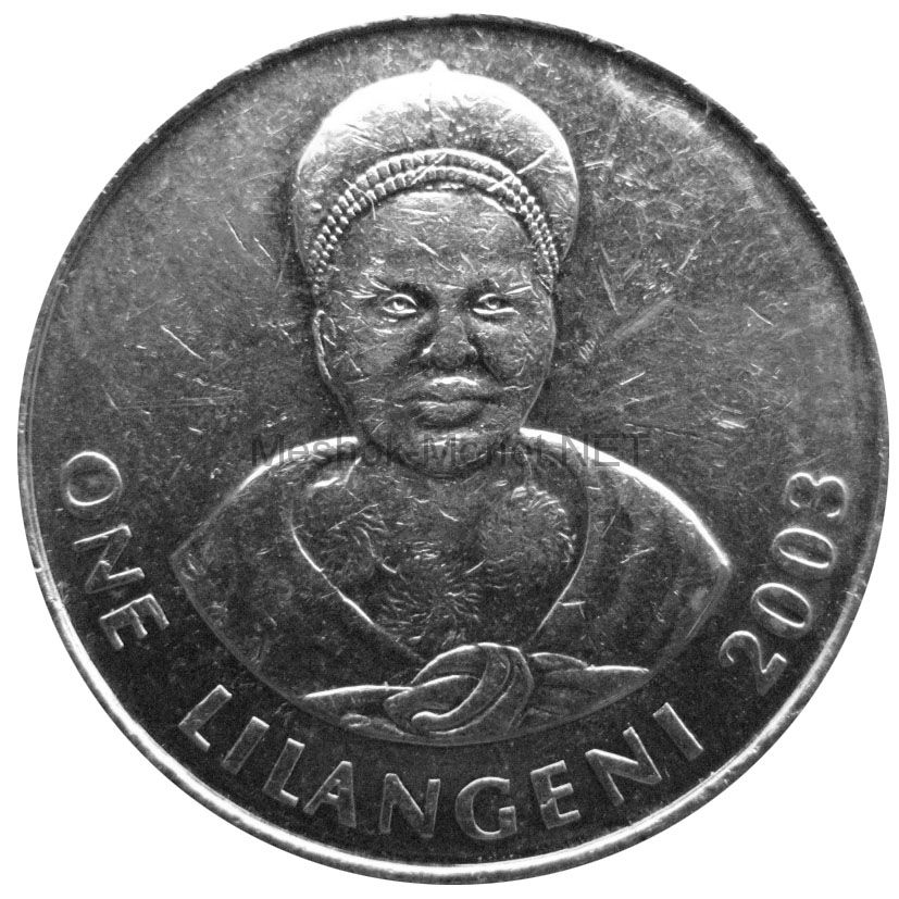 Свазиленд 1 лилангени 2002 г.
