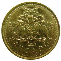 Барбадос 5 центов 2008 г.