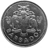 Барбадос 25 центов 2004 г.