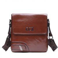 Мужская кожаная сумка CCZ