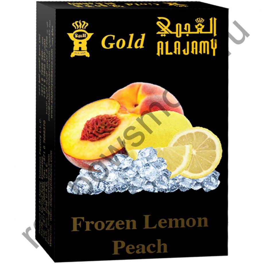 Al Ajamy Gold 50 гр - Frozen Lemon Peach (Морозный Лимон и Персик)