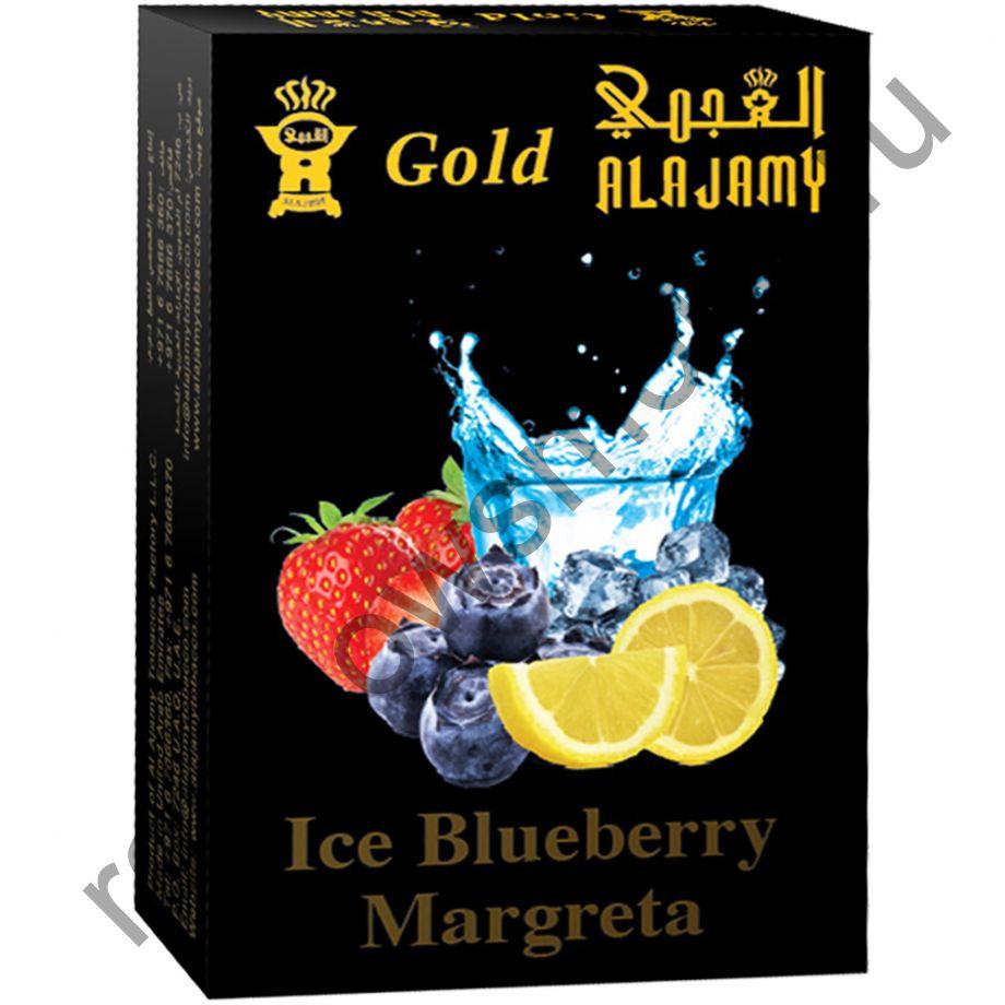 Al Ajamy Gold 50 гр - Ice Blue Berry Margreta (Ледяная черничная маргарита)