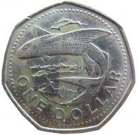 Барбадос 1 доллар 1989 г.
