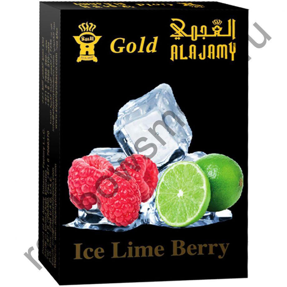 Al Ajamy Gold 50 гр - Ice Lime Berry (Ледяной лайм с малиной)