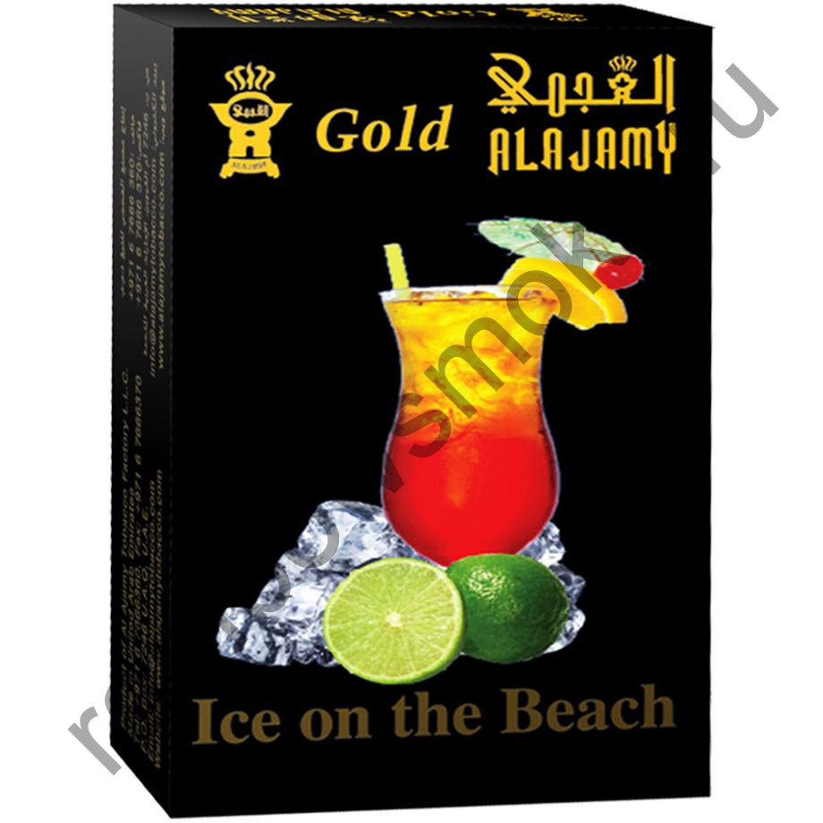 Al Ajamy Gold 50 гр - Ice On The Beach (Лёд на пляже)