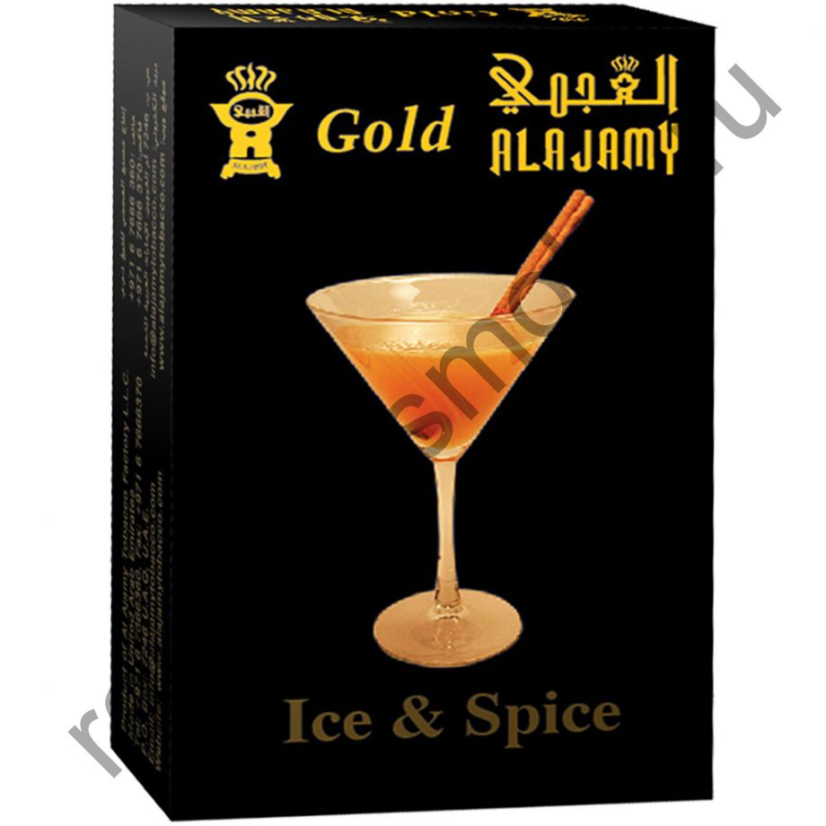 Al Ajamy Gold 50 гр - Ice and Spice (Лёд и специи)