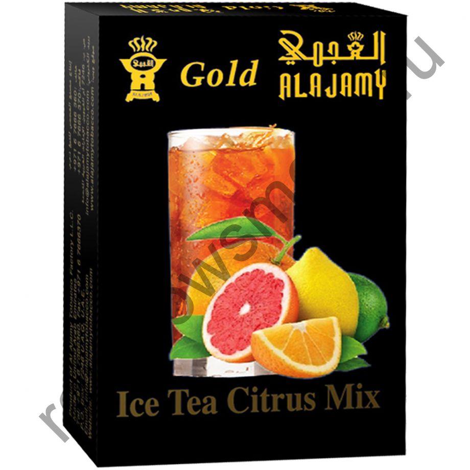 Al Ajamy Gold 50 гр - Ice Tea Citrus Mix (Ледяной чай с цитрусовым миксом)