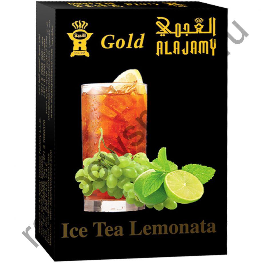 Al Ajamy Gold 50 гр - Ice Tea Lemonata (Ледяной чай с зелёным виноградом и лаймом)