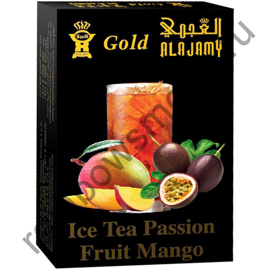 Al Ajamy Gold 50 гр - Ice Tea Passion Fruit Mango (Ледяной чай с маракуйя и манго)