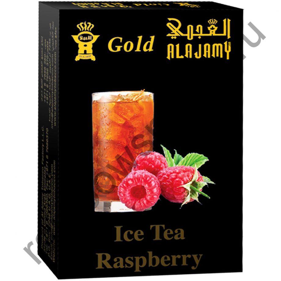 Al Ajamy Gold 50 гр - Ice Tea Raspberry (Ледяной чай с малиной)