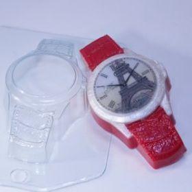 Форма для мыла Часы наручные/Кожаный браслет