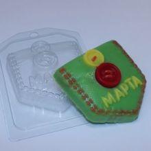 Форма для мыла 8 Марта/Кармашек