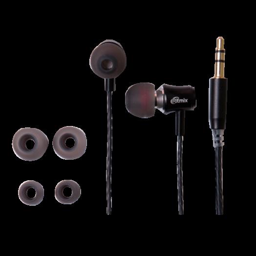 Наушники вакуумные Ritmix RH-130 Black