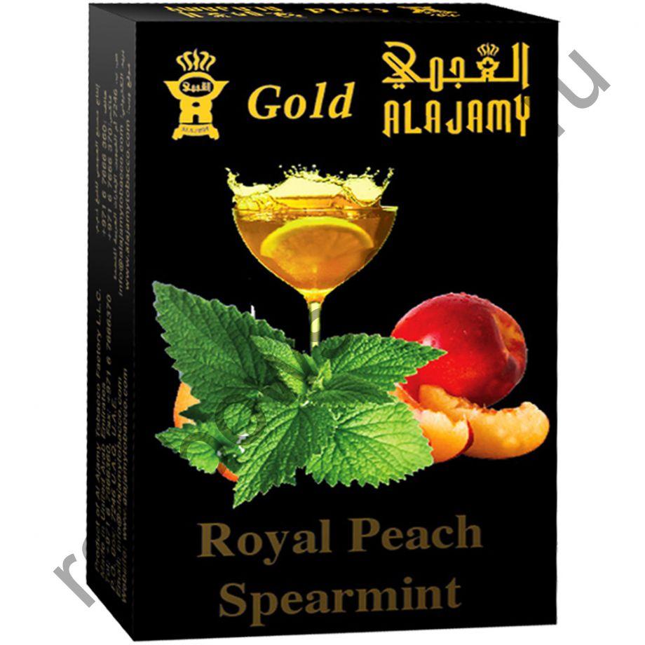 Al Ajamy Gold 50 гр - Royal Peach Spearmint (Королевский персик и перечная мята)