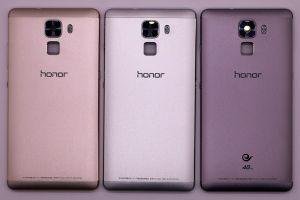 Задняя крышка Huawei Honor 7 (black) Оригинал