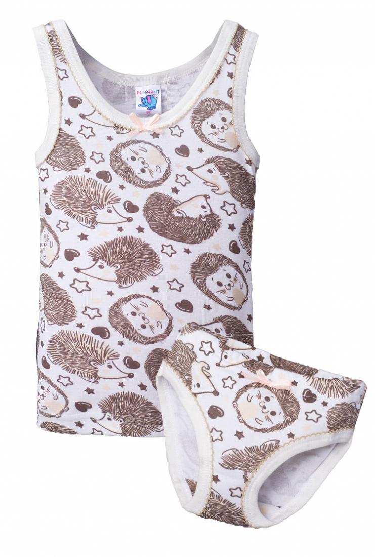 Комплект нижнего белья для девочки Ёжики