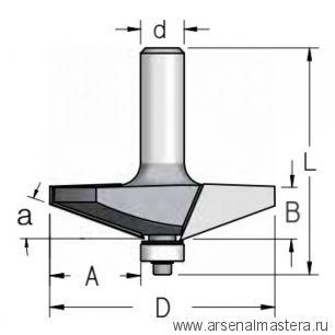 Фреза для изготовления филенки WPW 66.7x16x69x12 RK20002