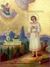 Икона Артемий Веркольский (копия 19 века)