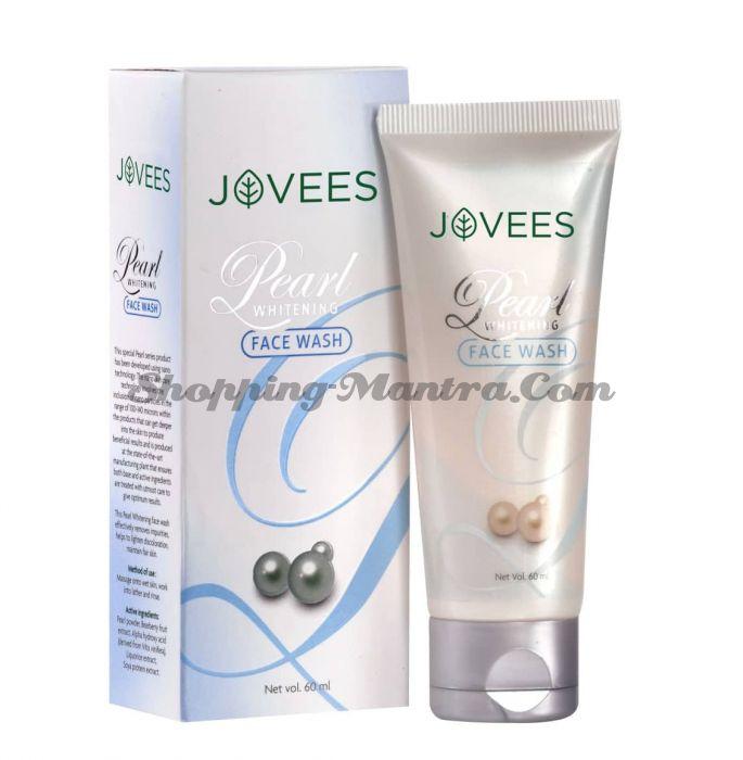 Отбеливающий гель для умывания Жемчуг Джовис | Jovees Pearl Whitening Face Wash