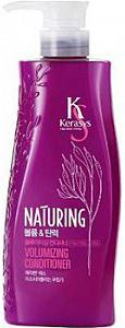 KeraSys Кондиционер для волос Naturing объём и эластичность с морскими водорослями с дозатором 500 мл