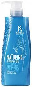 KeraSys Кондиционер для волос Naturing Уход за кожей головы с морскими водорослями с дозатором 500 мл