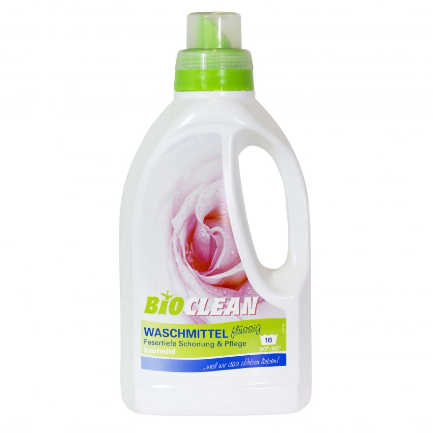 Жидкий гель для стирки «Waschmittel» BioClean (БиоКлин) 750 мл