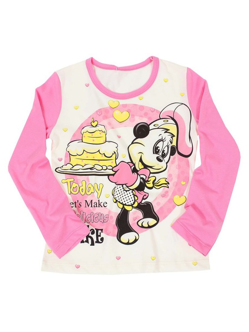 Хлопковая блуза для девочки