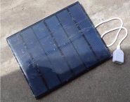 Солнечная панель для зарядки телефона.