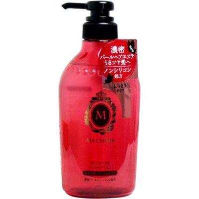 SHISEIDO MA CHERIE Бессиликоновый увлажняющий шампунь для волос с цветочно-фруктовым ароматом