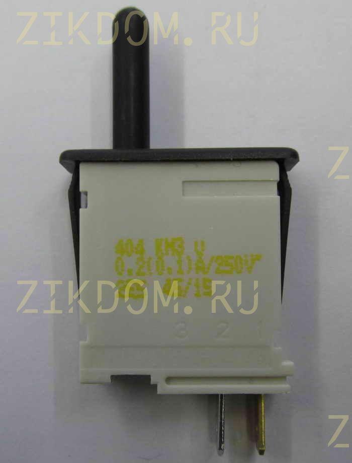 Выключатель света холодильника Bosch HL-404KM3, Metalflex