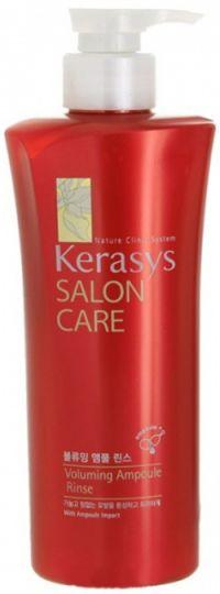 KeraSys Кондиционер для волос Салон Кэр Объём с дозатором 600 г