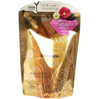 SHISEIDO TSUBAKI Oil Extra Кондиционер для восстановления поврежденных волос, насыщенный  маслом камелии 330 мл мягкая упаковка