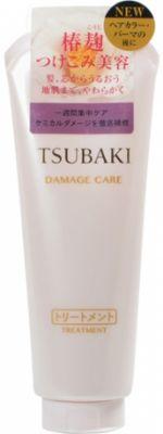 SHISEIDO TSUBAKI Damage Care Концентрированный бальзам-уход для поврежденных волос с маслом камелии