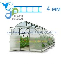 Теплица Митлайдер 3 х 12 с поликарбонатом 4 мм Polygal