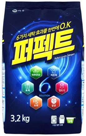 KeraSys Стиральный порошок Перфект мульти солюшн мягкая упаковка 3,2 кг