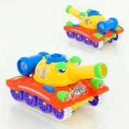 Детский танк стреляет шариками