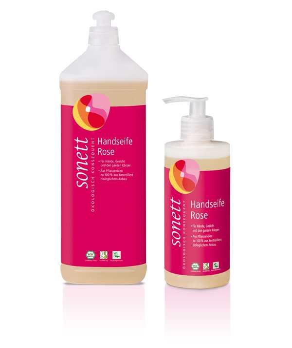 Жидкое мыло «Rose» Sonett (Сонет) 1000 мл