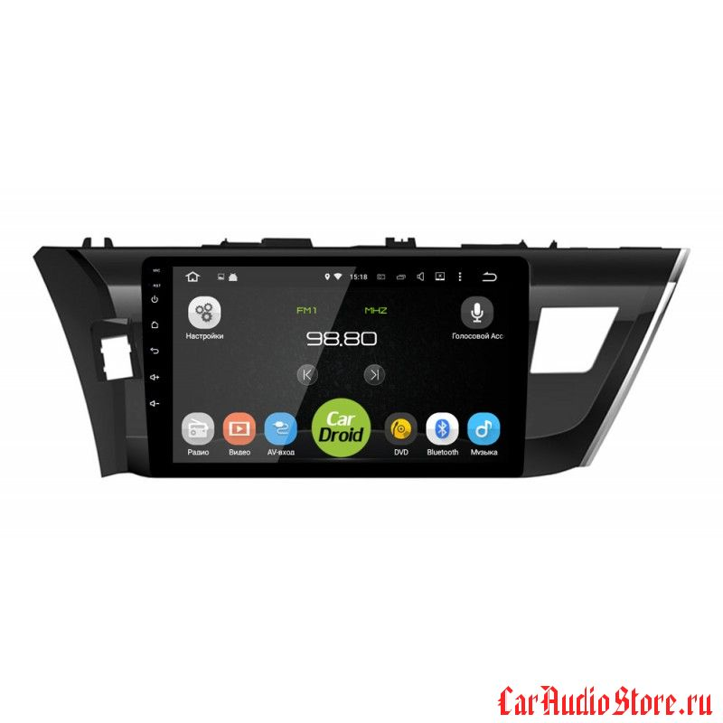 CarDroid RD-1103F для Toyota Corolla e160 (Android 6.0)