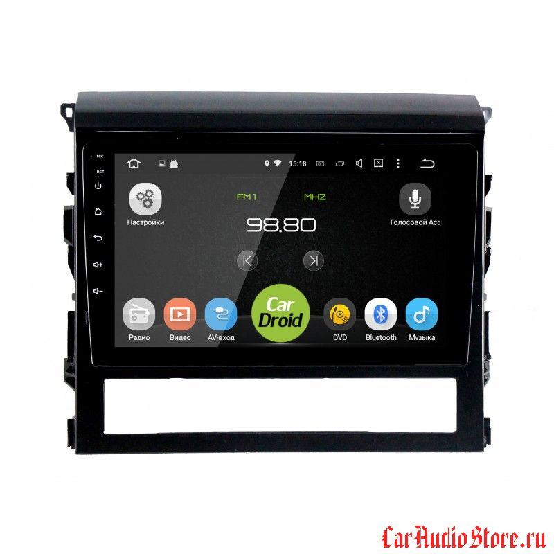 CarDroid RD-1113F для Toyota Land Cruiser 200 2015+ (Android 6.0)