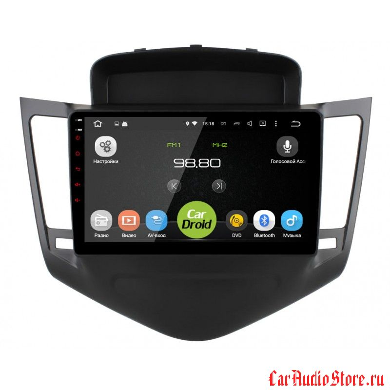 CarDroid RD-1308F для Chevrolet Cruze 2009-2013 (Android 6.0)