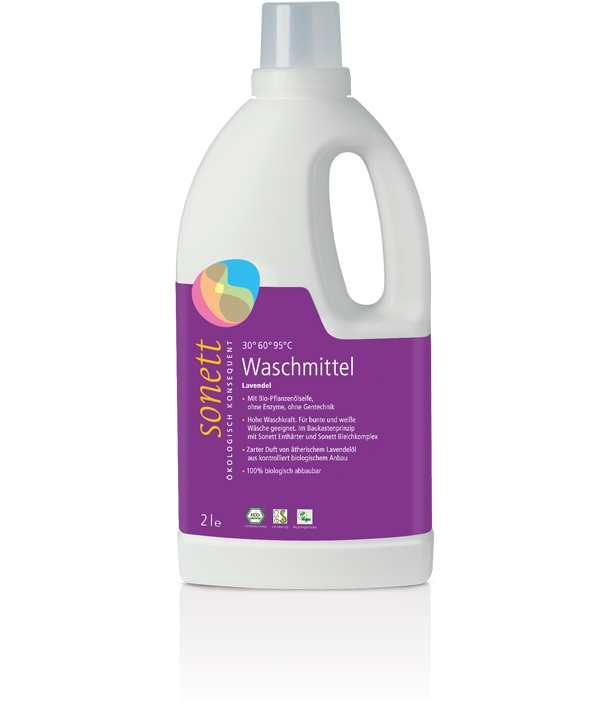 Экогель для стирки «Lavendel» Sonett (Сонет) 2000 мл