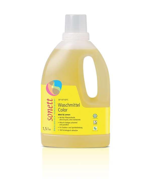 Экогель для стирки «Color Lemon»  Sonett (Сонет) 1500 мл