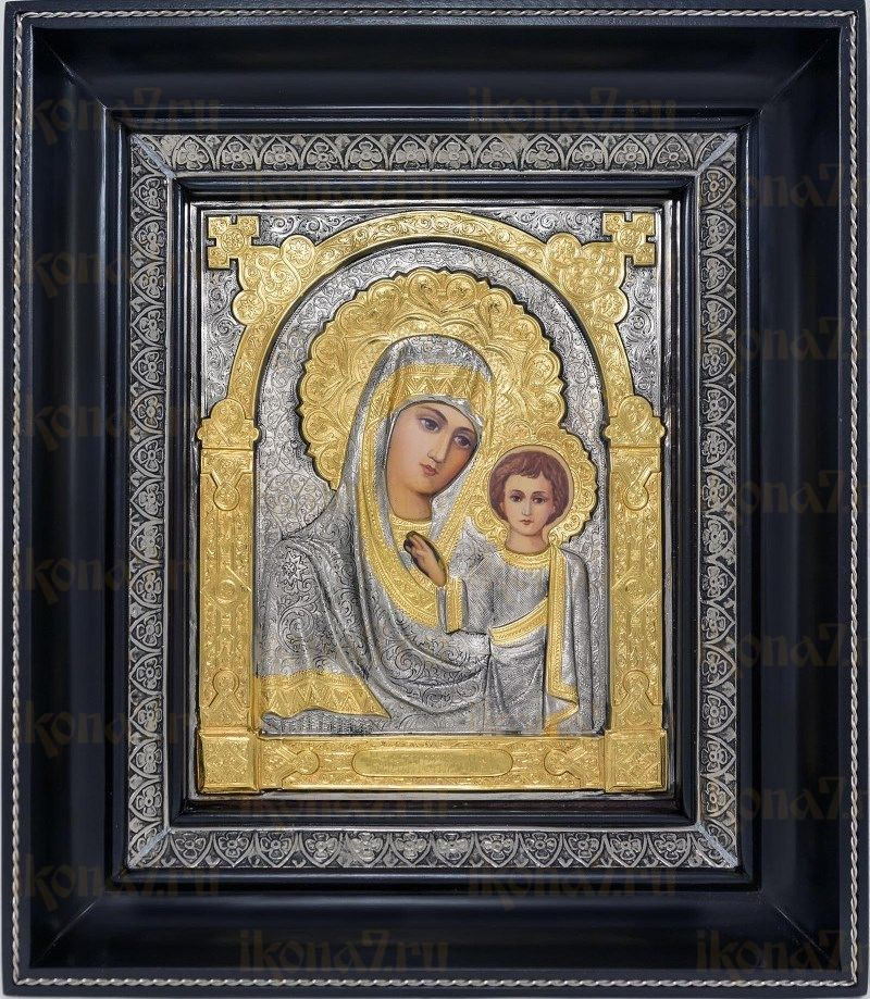Казанская икона БМ (23х27), серебро