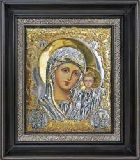 Казанская икона БМ (26х31), серебро