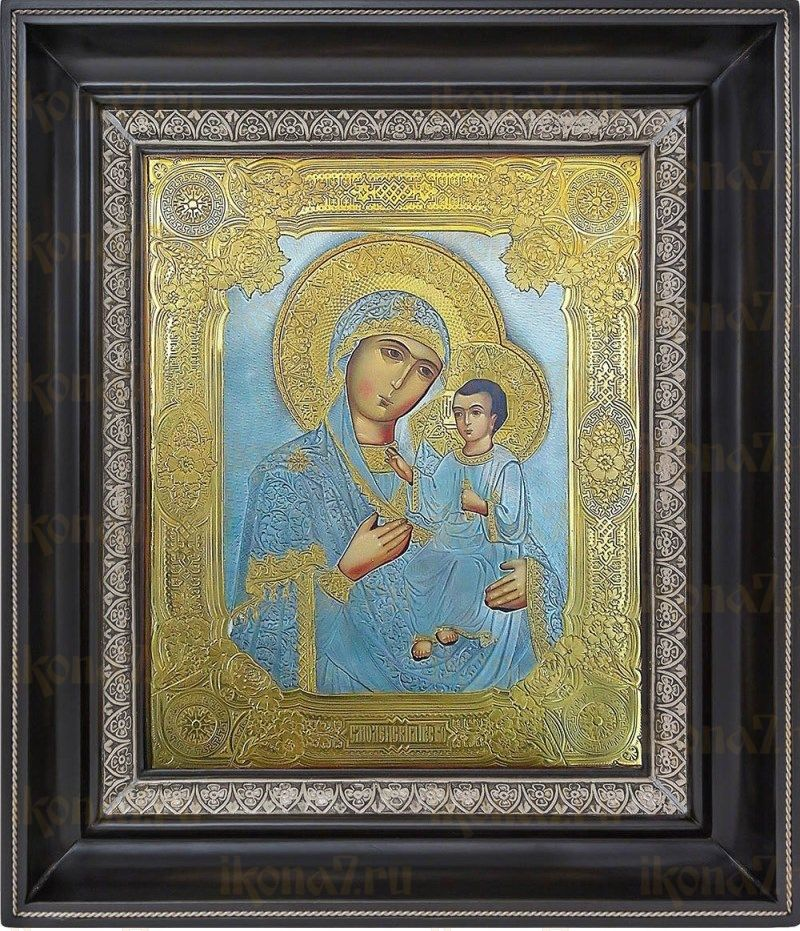 Смоленская икона БМ (27х31), серебро
