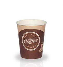 Стакан бумажный для гор. напитков 180 мл (50 шт.)