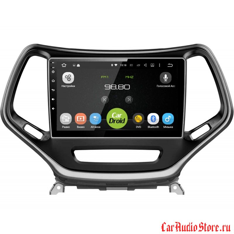 CarDroid RD-2202F для Jeep Cherokee (Android 6.0)