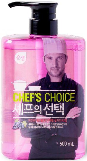 KeraSys Средство для мытья посуды Сунсэм Выбор шеф-повара с винным уксусом с дозатором 600 мл