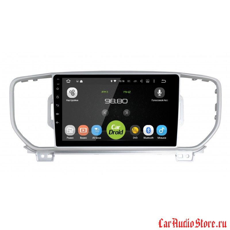 CarDroid RD-2319F для KIA Sportage 4 (Android 6.0)